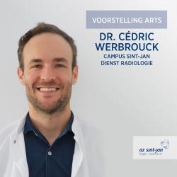 Voorstelling dr. Cédric Werbrouck