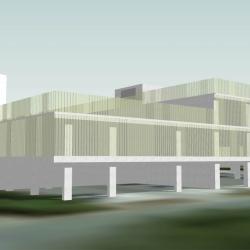 Nieuw parkeergebouw campus Sint-Jan
