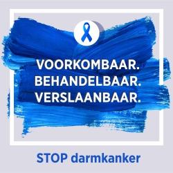 Stop darmkankermaand Henri Serruys