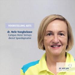 Voorstelling dr. Nele Vangheluwe