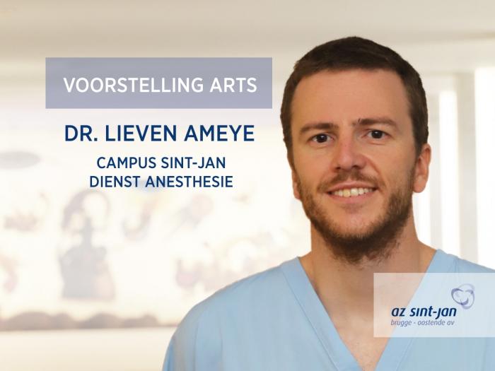 Anesthesist dr. Lieven Ameye campus Sint-Jan Brugge