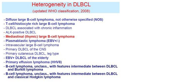 B-cellymfomen zijn de grootste groep lymfomen en over het algemeen goed behandelbaar.