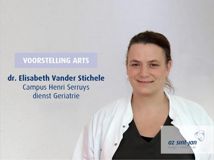 Dr. Vander Stichele geriatrie campus Henri Serruys Oostende