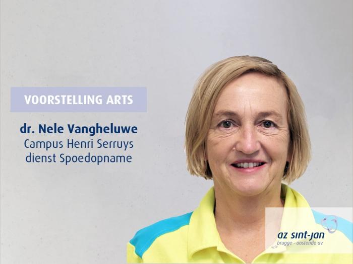 Dr. Nele Vangheluwe campus Henri Serruys Oostende