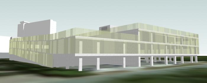 Campus Sint-Jan nieuw parkeergebouw