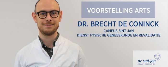 Dr. De Coninck Brecht, Revalidatiearts