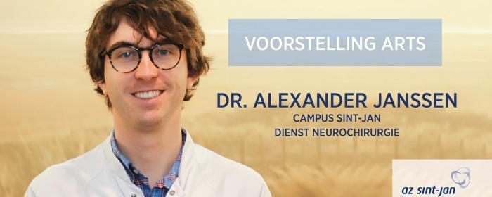 Voorstelling dr. Alexander Janssen