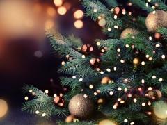 Detail kerstboom
