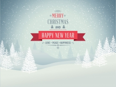 Merry Christmas and Happy New Year. Love, peace, happiness