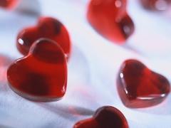 Snoepjes in hartvorm